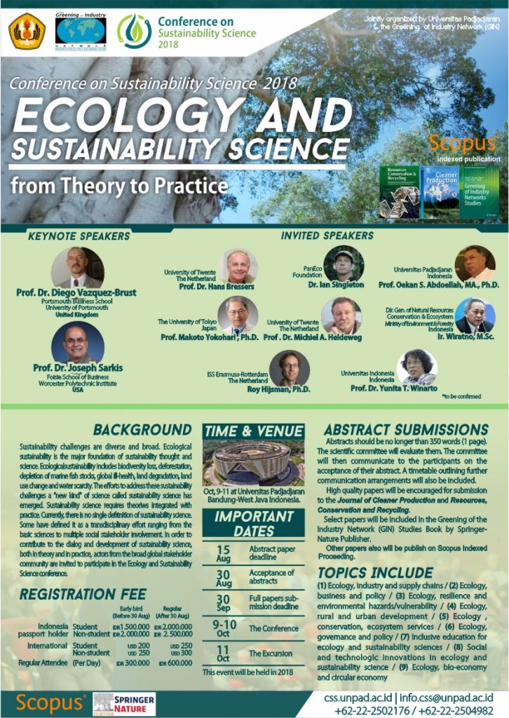 Ecology and Sustainability Science